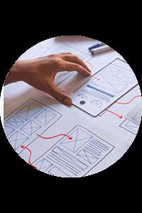 Notre agence conçoit et analyse l'UX/UI de vos applications
