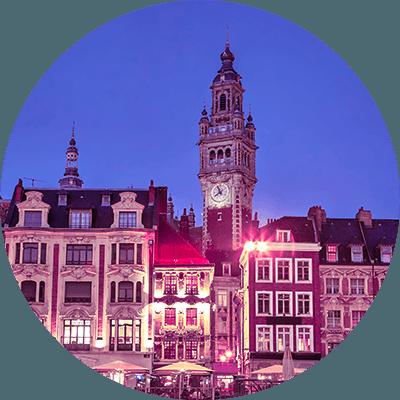 Découvrez notre agence de Lille spécialisée dans le retail, banque-assurance et santé
